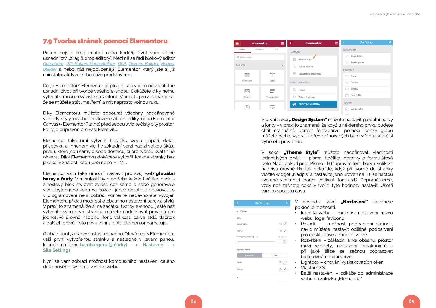 SellOnline Jak založit eshop návod ebook ukázka Elementor 33